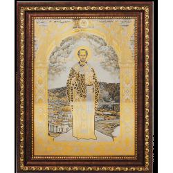 Гравюра Икона Иоанн Златоуст