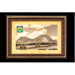 Гравюра Мост