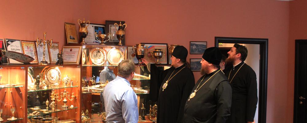 митрополит Костромской и Нерехтский Ферапонт посетил г.Златоуст