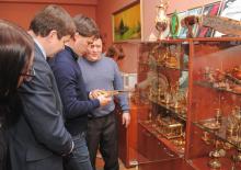 Рабочий визит зам. губернатора Челябинской области Гаттарова Руслана Усмановича