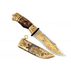 Нож Тайга (украшенный)