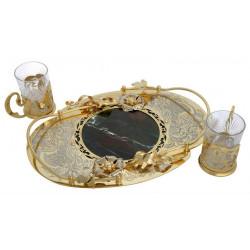 Набор для чая (с камнем)