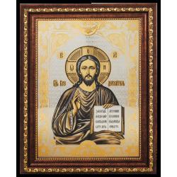 Гравюра Икона Господь Вседержитель (Иисус Христос)
