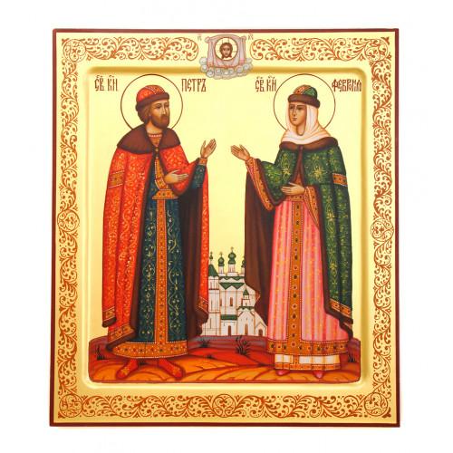 """Икона """"Святой Петр и Феврония"""""""