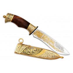 Нож Торнадо-2 украшенный