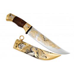 Нож Атаман украшенный