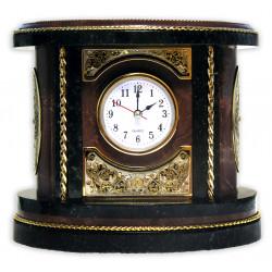 Часы каминные (яшма)