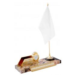 Настольный прибор с флагштоком